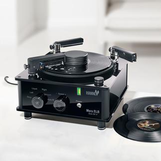 Nettoyeur de disques vinyle Mera ELB Eco 24 V Nettoie les disques vinyle neufs et anciens, en profondeur mais tout en douceur. Pour un son optimal.