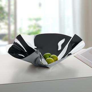Coupe design PHILIPPI  « Vagues » Une imposante création au bel effet miroir. Mise en forme à la main. Chaque coupe vague est une pièce unique.