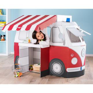 Combi ludique et d'apprentissage Kampini Un rêve d'enfant pour petits et grands, dès 3 ans : le combi Volkswagen pour jouer, dormir, camper ...