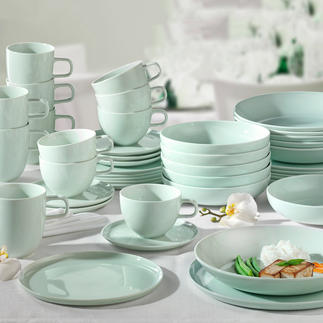 Série en porcelaine « Kolibri » par Tim Raue Une table joliment dressée, comme chez le cuisinier étoilé Tim Raue.