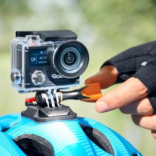 Action-Cam Rollei 430 La caméra nouvelle génération : Pour des vidéos de vos aventures les plus spectaculaires. Même en plongée.