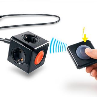 PowerCube avec télécommande sans pile Plus besoin de changer de piles, pour le bien de l'environnement.