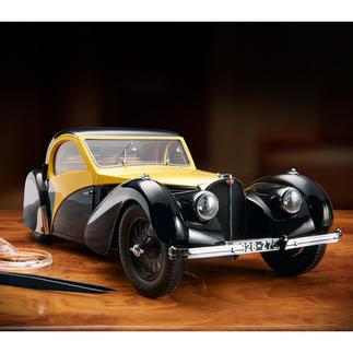 Bugatti Atalante Type 57SC, modèle réduit 1:12 Renaissance d'une légende de l'automobile.  Édition limitée à 500 pièces.