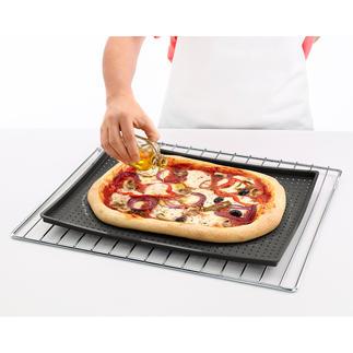 Tapis de cuisson croustillant Un tapis de cuisson pour préparer des fonds de pâte croustillants. Pour pizza, gâteaux cuits sur plaque...