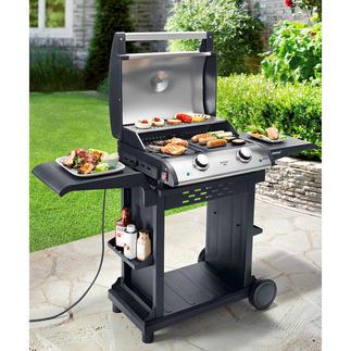 Gril de table électrique 2 zones Importante surface de cuisson de 1500 cm² avec 2 zones de température.