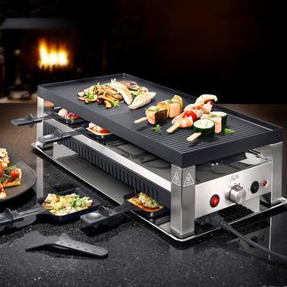 Four à raclette 5-en-1 Solis Avec cet accessoire polyvalent, vos soirées gourmandes seront encore plus diversifiées.