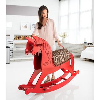 Cheval à bascule XL Souvenirs d'enfance : le cheval à bascule au format XL.