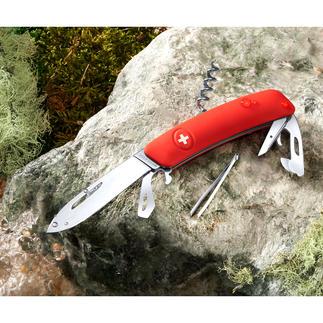 Couteau suisse SWIZA D03 A la fois outil indispensable et accessoire mode. Le couteau suisse nouvelle génération.
