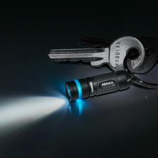 Projecteurs micro-LED, lot de 2 Plus petite et même plus légère qu'une pile AAA. Portée : jusqu'à 15 mètres.