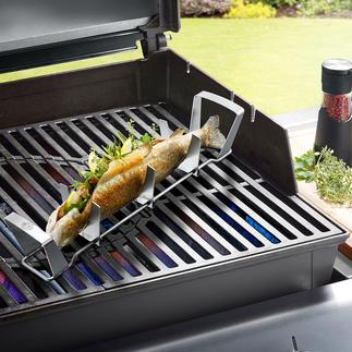 Grille BBQ à poisson Gefu® Des grillades de poisson succulentes ? Ça n'a jamais été aussi simple !