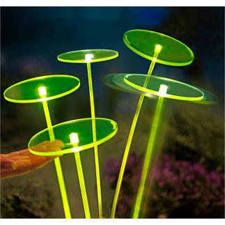 Swing Lights, vert. la pièce La nouvelle génération de capteurs de soleil fascine par ses effets lumineux.