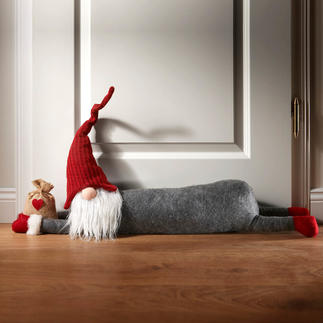 Boudin de porte « Noël » Finis les courants d'air au niveau de la portée d'entrée ou de la terrasse.