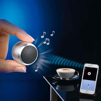 Mini-enceinte Bluetooth Une qualité de son étonnante au format de poche. Sans fil.