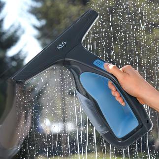 Nettoyeur de vitres et surfaces AEG WX7 90B2B Racler l'eau rapidement et aisément, tout en aspirant.