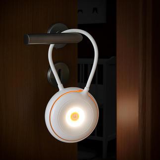 Lampe polyvalente sans fil Un objet polyvalent par excellence : à la fois lampe de table, lampe de poche et lampe suspendue.
