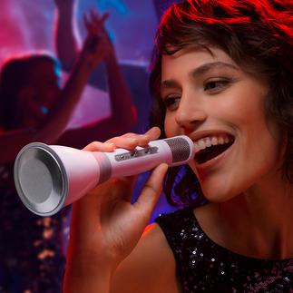 Microphone karaoké Bluetooth Une installation karaoké complète qui tient dans la main.