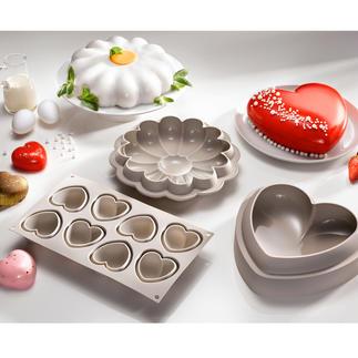 Moules Silikomart Réalisez de délicieuses œuvres d'art pâtissières qui attirent tous les regards.