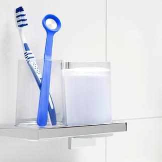 Nettoyeurs de langue anti-odeurs, lot de 2 Un outil pratique primé qui ôte en douceur les dépôts sur la langue et combat la mauvaise haleine.
