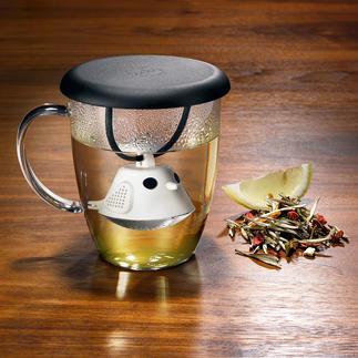 Tasse avec œuf à thé « Birdie » De la bonne-humeur dès le matin, avec un délicieux thé parfumé, fraichement infusé.