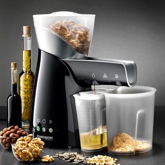 Presse à huile électrique Votre huile alimentaire la plus précieuse est faite maison, afin de conserver toutes ses substances vitales.