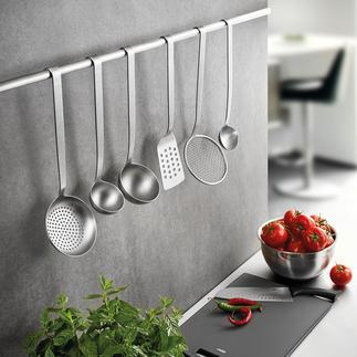 Ustensiles de cuisine Gefu BASELINE En acier inox solide, travaillé sans joints. Un achat pour la vie.