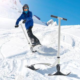 Trottinette Snow Kick Flex Stiga® Dévalez les pistes de ski ou de luge en station debout, comme sur une trottinette.