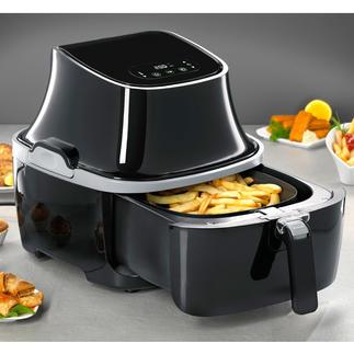 Friteuse à air chaud Caso AF 400 Idéal pour une cuisson sans graisse ni calorie. Et pour les grandes portions.
