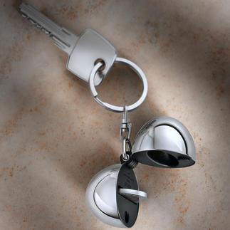 Porte-clefs design Coin Le pendentif renferme votre jeton, toujours à portée de main.