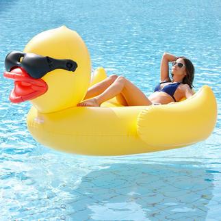 Bouée canard XXL Culte, cool et confortable : la bouée canard au format XXL.