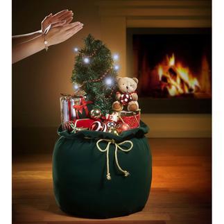 Sac de Noël Une décoration de Noël pour le plaisir des yeux et des oreilles.