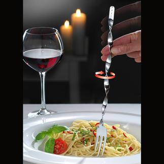 Fourchettes à spaghettis, lot 2 pièces Enroulez les spaghettis devient un jeu d'enfant !
