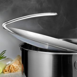 Couvercle de casseroles mono multi-top Adapté pour toutes les casseroles. Bien plus qu'un simple couvercle.