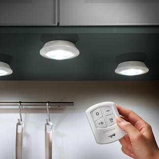 Lampes LED sans fil, lot de 3 pièces Une lampe LED sans fil, toujours là où vous en avez besoin.