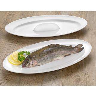 Plat à four & de service pour le poisson Une cuisson parfaite pour votre poisson : juteux, parfaitement doré des deux côtés et servi de façon très stylée.