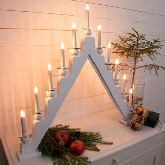Arc lumineux Une lumière festive au format XL impressionnant.