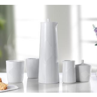 Porcelaine Thermodan Lyngby Un classique de la porcelaine maintes fois primé, datant de 1957.