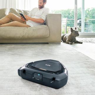 Robot aspirateur AEG RX9 3D Vision Pour un nettoyage optimal dans les angles et les coins. Guidage par technologie 3D-Vision™ innovante.