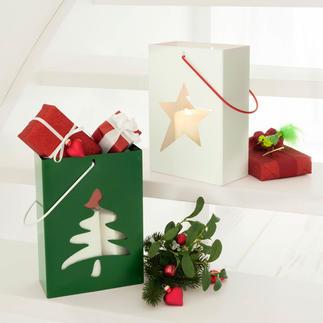 Photophore-emballage cadeau A la fois photophore, emballage et cadeau !