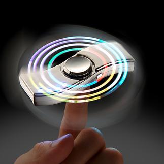 Fidget spinner deluxe Le gyroscope antistress pour les loisirs et le bureau.