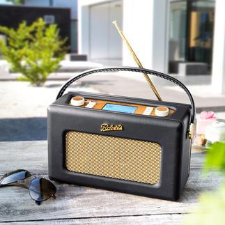 Roberts Radio Revival-iStream 2 Un classique rétro britannique associé à la technologie numérique de pointe d'aujourd'hui.