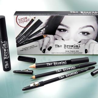 The BrowGal Le secret de beauté pour avoir des sourcils tendance : fournis et parfaitement définis.