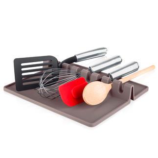 Tapis pour ustensiles de cuisson Tout est à portée de main, mais votre plan de travail reste propre.