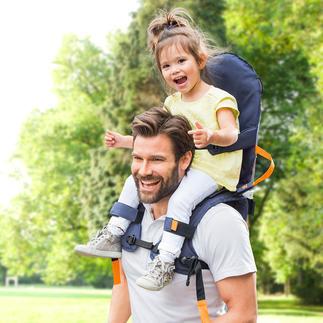 Siège de portage épaule MiniMeis® Probablement le système de portage épaules le plus sûr du marché.