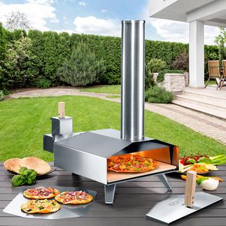 Four à bois compact pour pizza Pour préparer la meilleure pizza au four à pierre, comme chez l'italien.