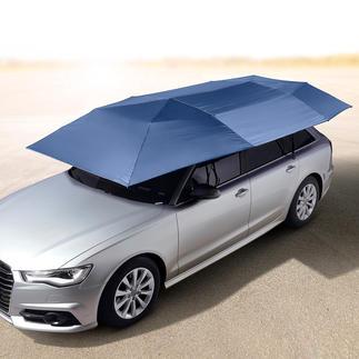 Pare-soleil portable pour véhicule L'astucieux pare-soleil pour voiture : protège des rayons UV et de la chaleur. Met votre voiture à l'abri de la pluie, de la poussière ...