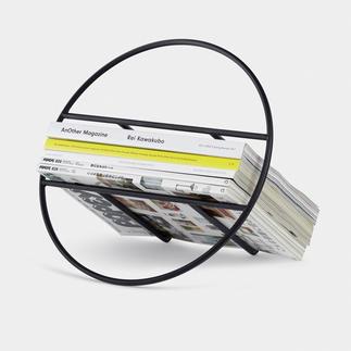Porte revues et disques design Design minimaliste pour ranger vos magazines ou vos disques vinyles.