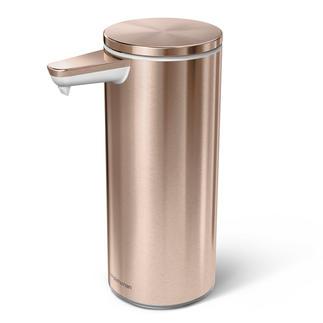 Distributeur de savon à capteur avec doseur automatique Intuitif, propre et rapide à manipuler.