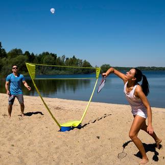 Lot badminton Schildkröt® Entraînez-vous au badminton avec un filet à hauteur de compétition.