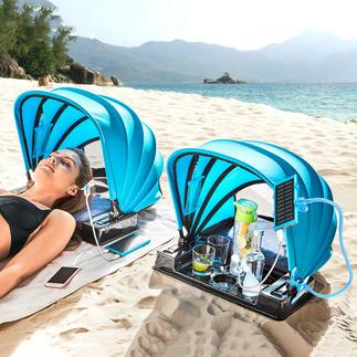Abri de plage 2.0 Un accessoire pratique et agréable, à emporter partout. Développé en Australie.