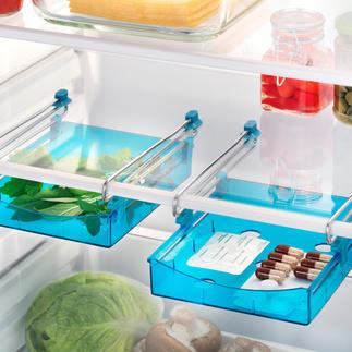 Tiroirs additionnels pour réfrigérateur, lot de 2 pièces Offre plus d'espace et maintient l'ordre.